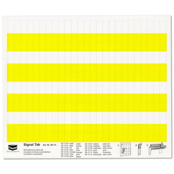 091301 Signal-Tabs gelb