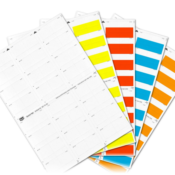 290004S Quick-Tabs Sortiment (Farben 00-04)