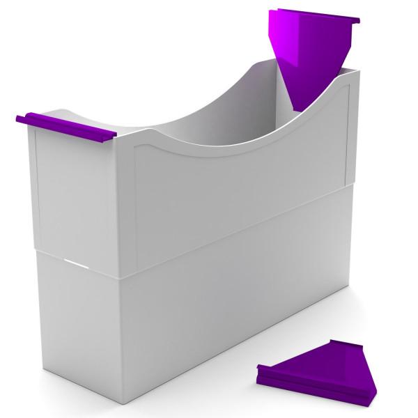 180030 Hängeleisten purple violet f. Kst. Box