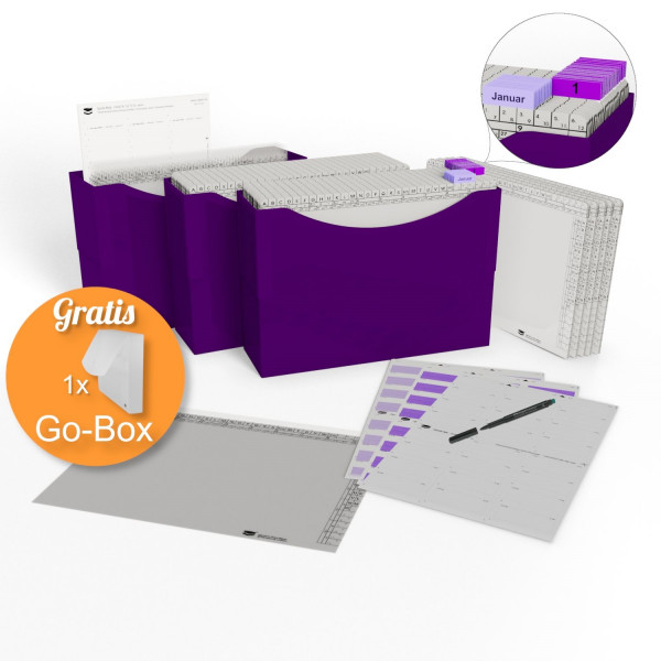 900030 HomeOffice Edition purple violett