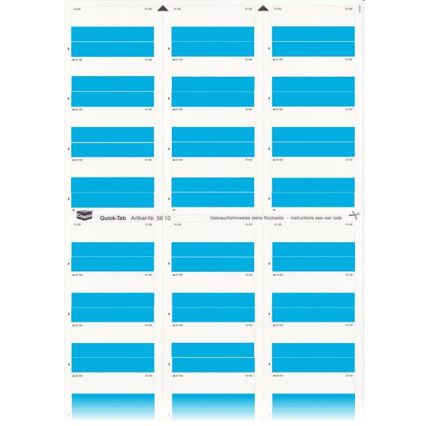 581003 Quick-Tabs blau