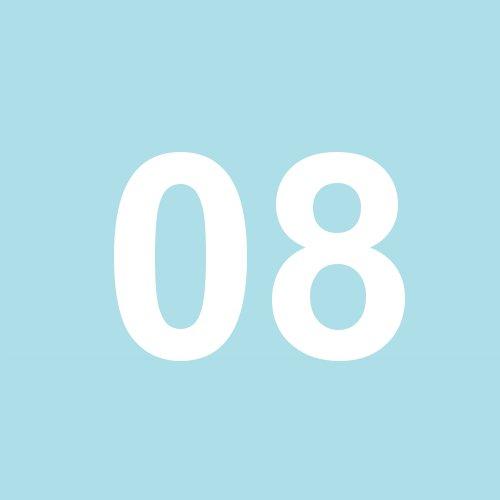 08 - hellblau