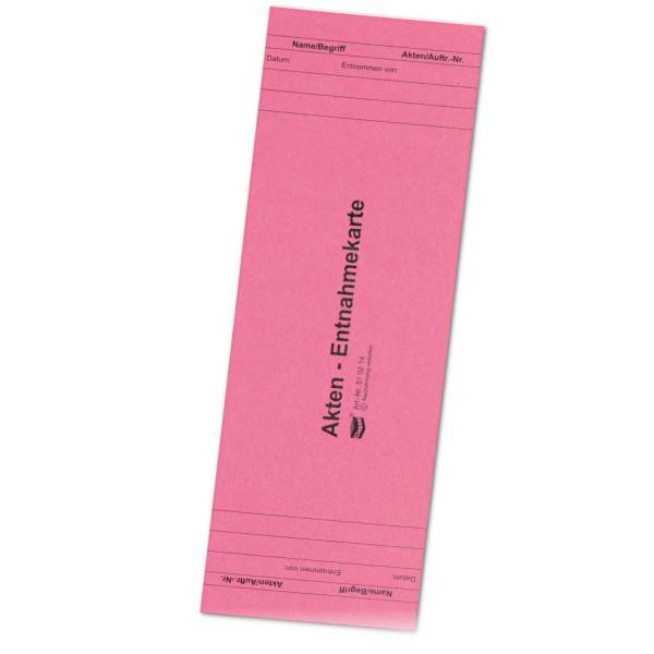 510214 Entnahmekarten