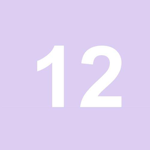 12 - hellviolett