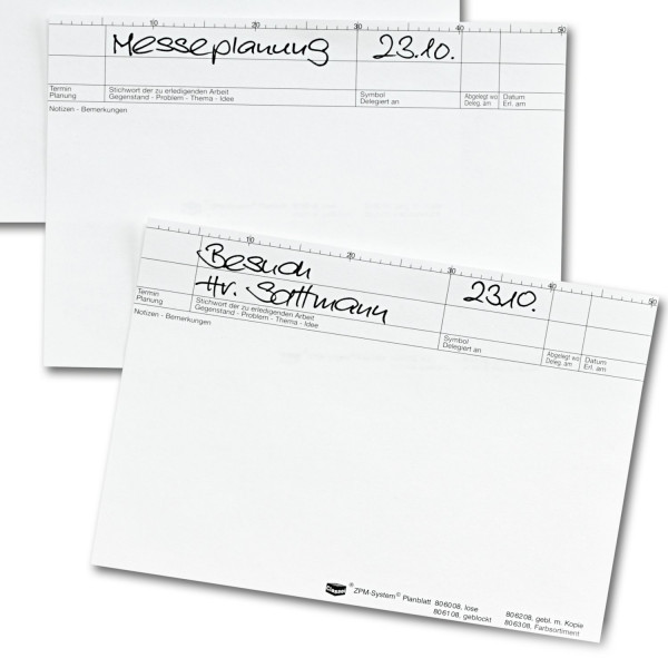 806008 Planblätter weiß, 90 g/qm, lose/Pck./100Bl.