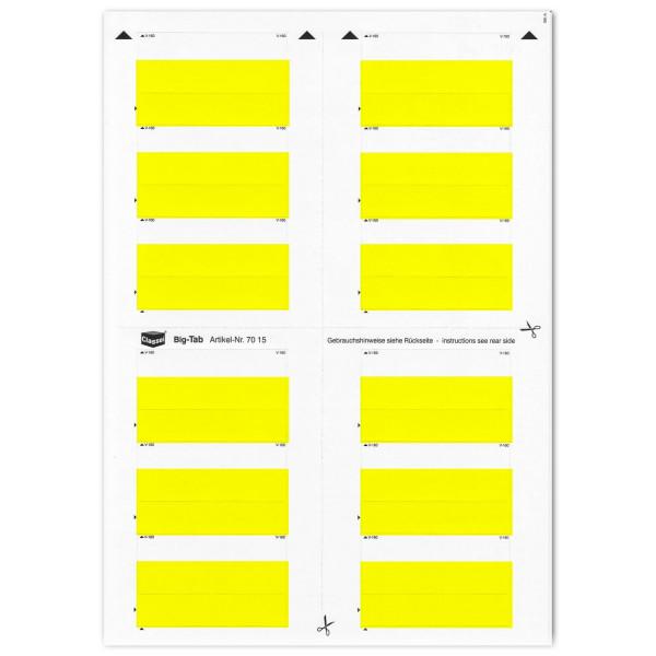 701501 Big-Tabs gelb