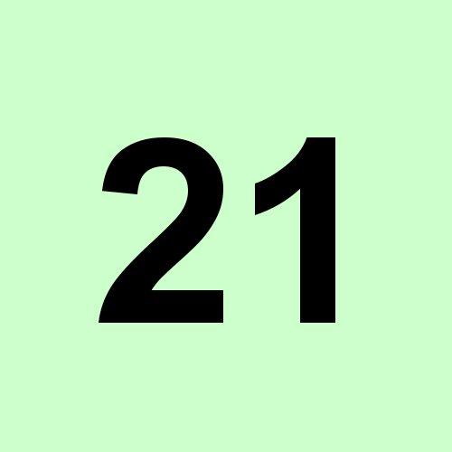21 - hellgrün