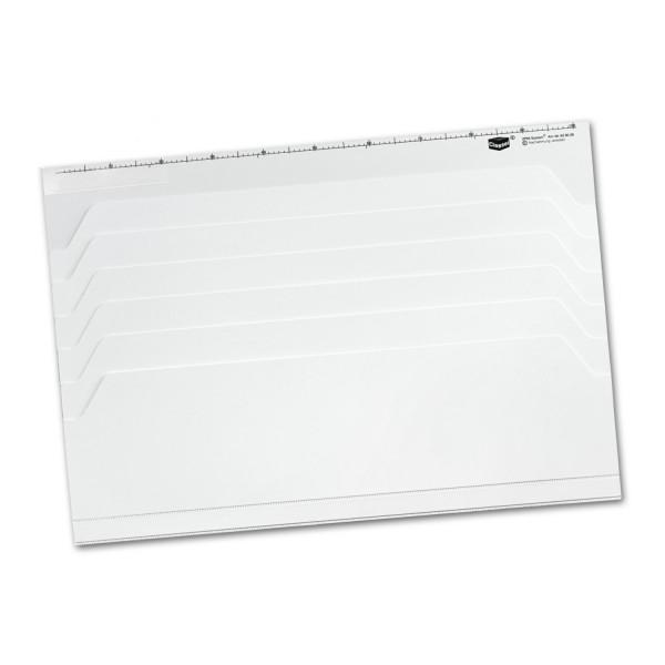 626026 Plantafel Kunststoff weiß