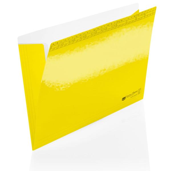 204045/01 Orgamappen Elegance gelb 250g