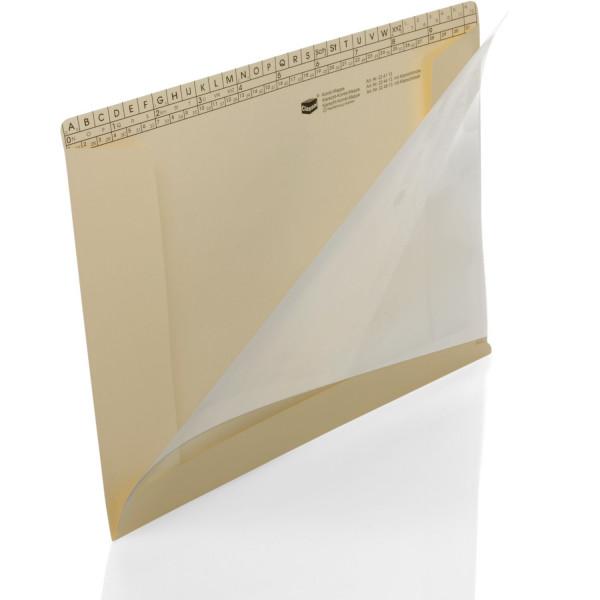 224413 Kombi-Mappen 150 g/m² mit Klarsichthülle