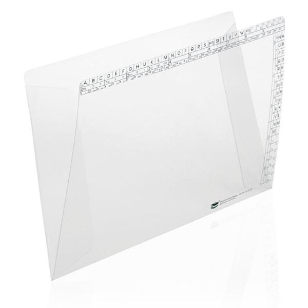 204450 Klarsichtmappen, transparent, 250 g/qm