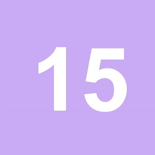15 - violett