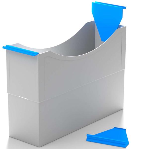 180032 Hängeleisten azure blue f. Kst. Box