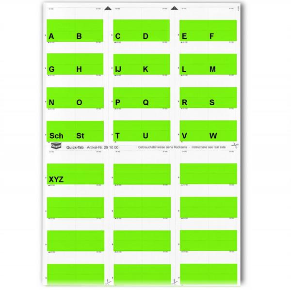 291006A Alpha-Tabs grün A-Z