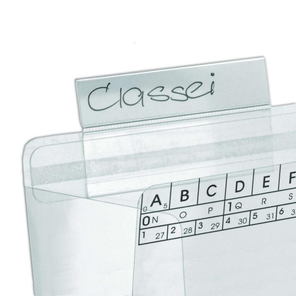410370 Schiebereiter, glasklar, 15 x 70 mm