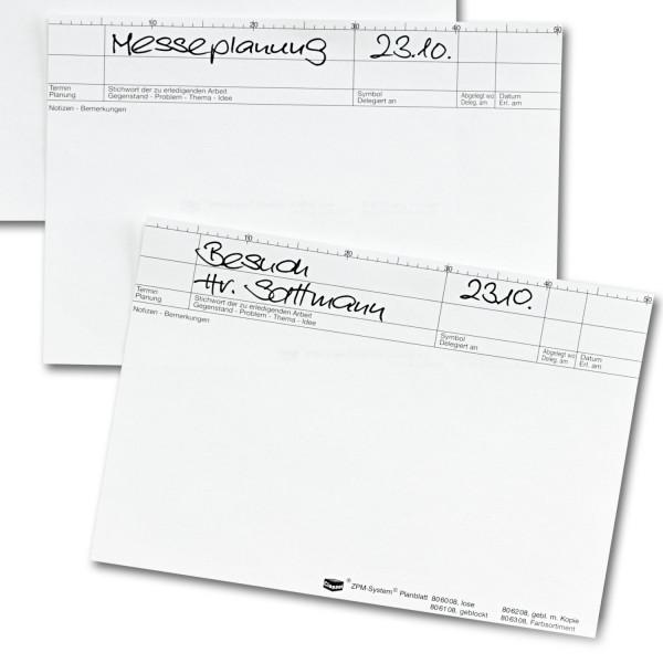 806108 Planblätter, 80 g/qm, Block/ 25 Blatt