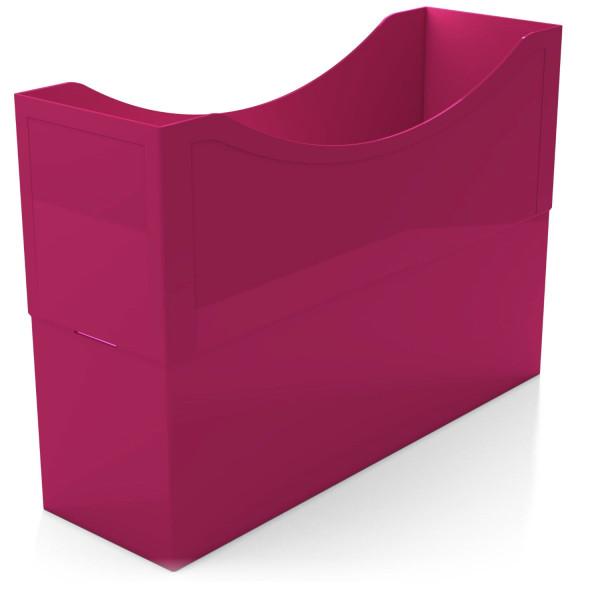 104033 Kunststoffboxen magenta red