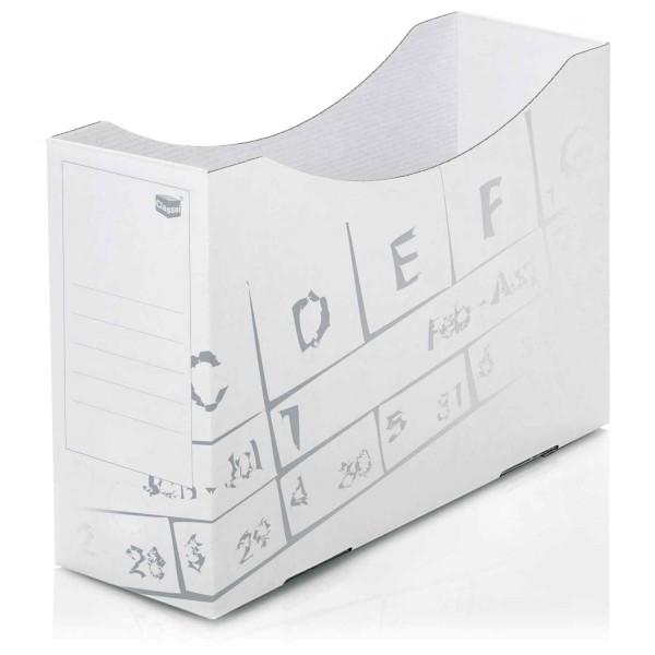 104051 Orgaboxen, Karton, weiß